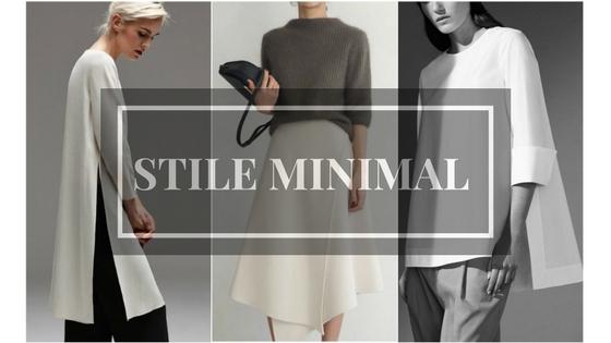 stile minimal