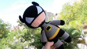 Batman amigurumi tejido a crochet
