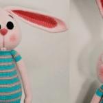 Conejo amigurumi con patrón gratis