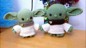 DIY Baby Yoda Amigurumi