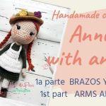 Muñeca amigurumi Anne With