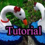 DIY Cisne amigurumi paso a paso