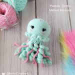 Medusa amigurumi patrón español