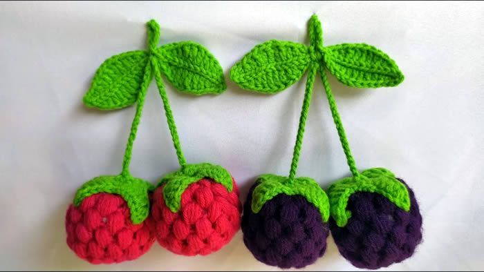 Moras a crochet paso a paso muy fácil
