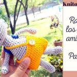 Ratoncito Pérez amigurumi DIY y patrón