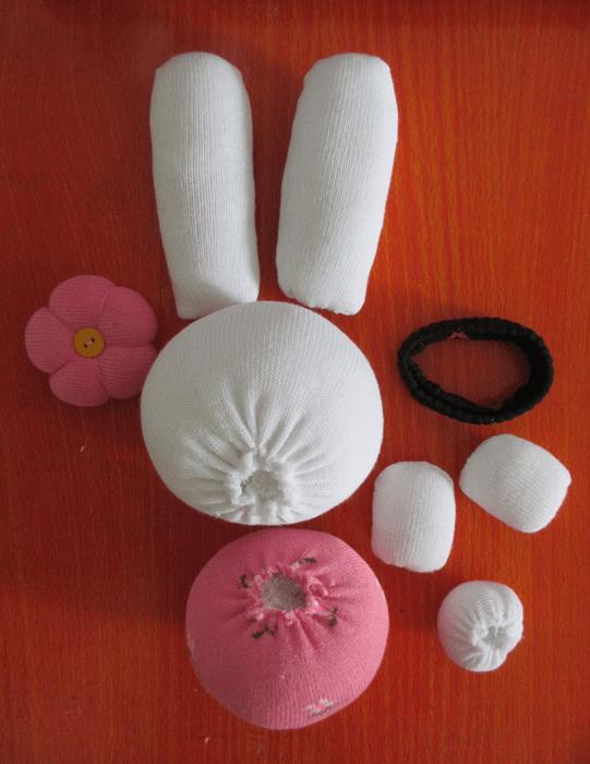 conejo con calcetines 3