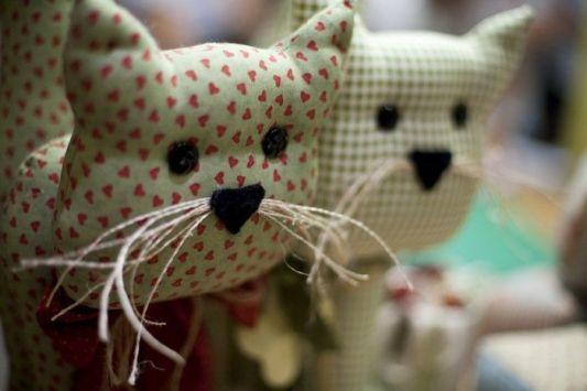 gatos de tela 8