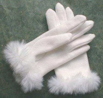 guantes de señora