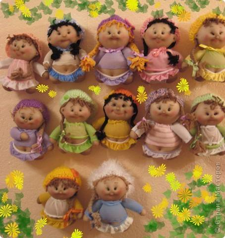 muñecas con medias