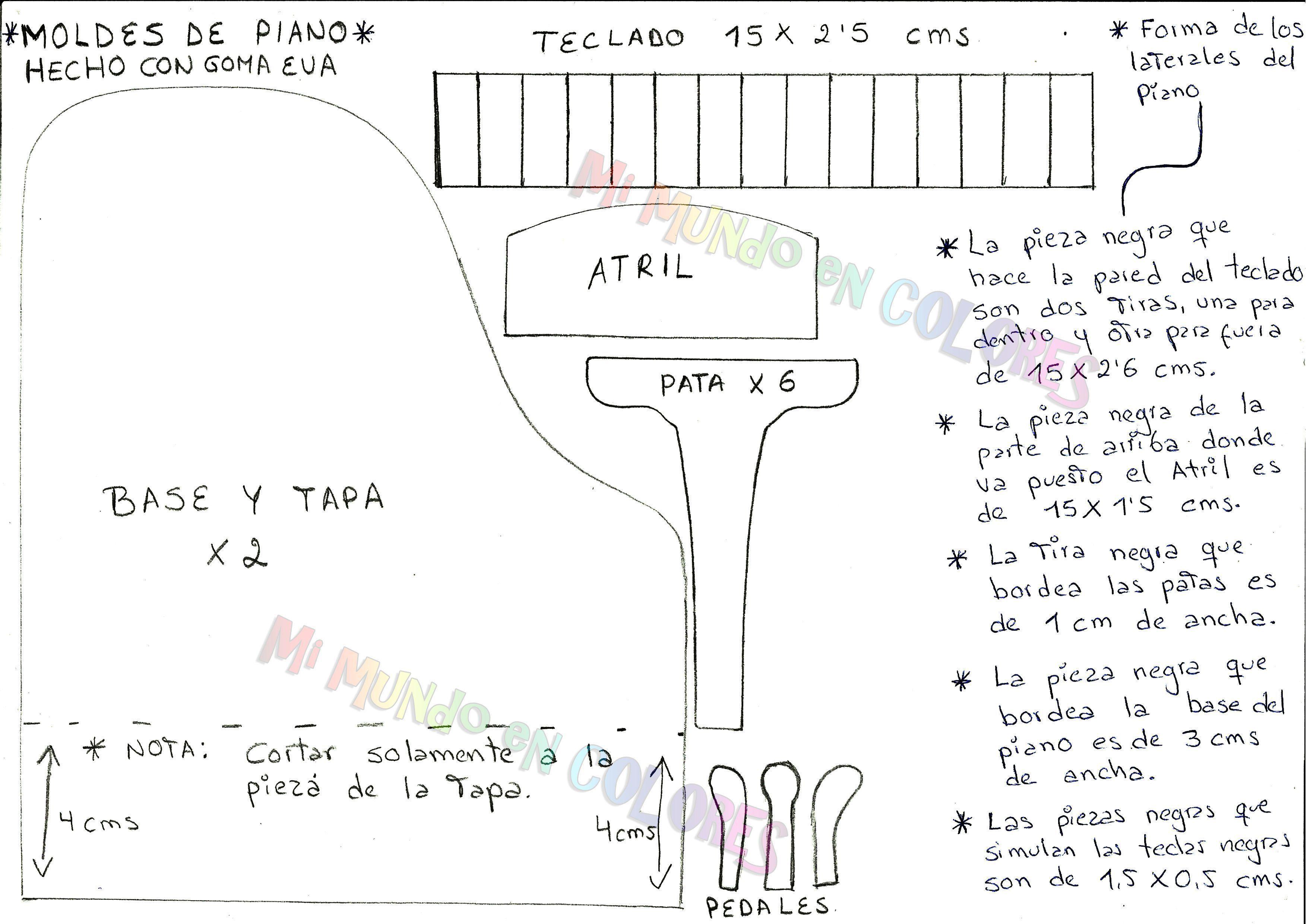 Imagen piano dentro Piano base pata etc ... 2f88b280420