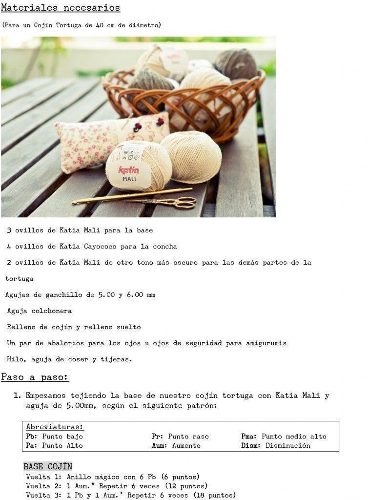 tortuga crochet 2 - Patrones gratis
