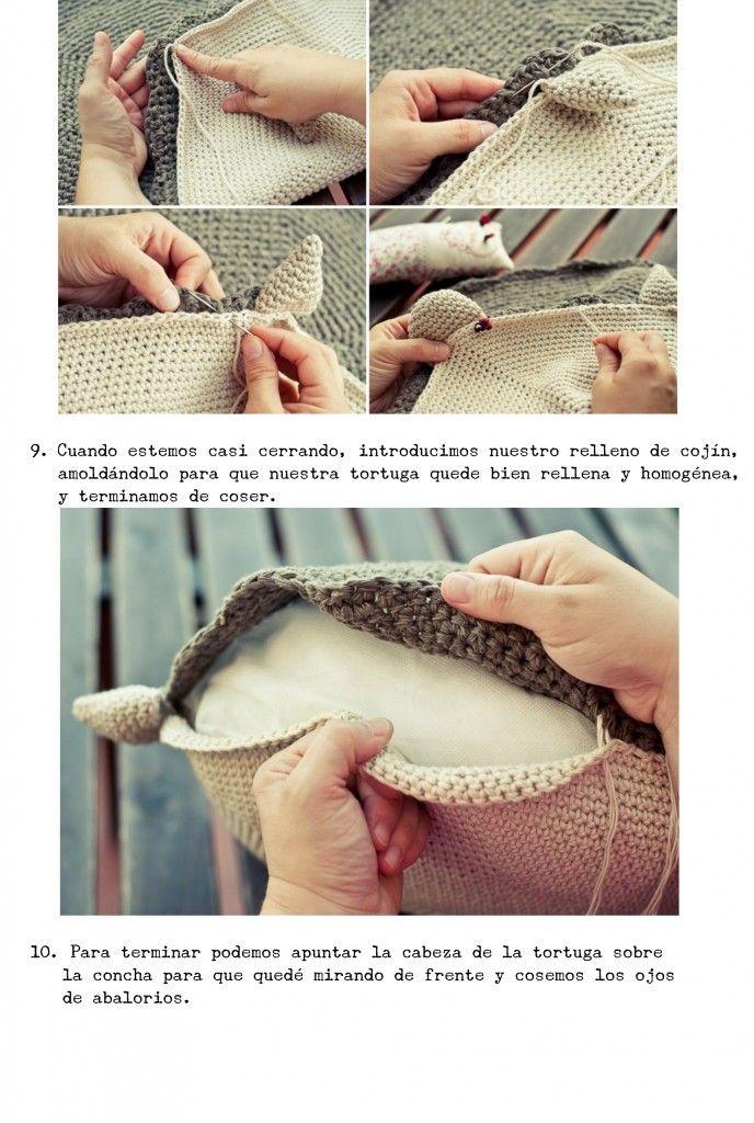 tortuga crochet 8