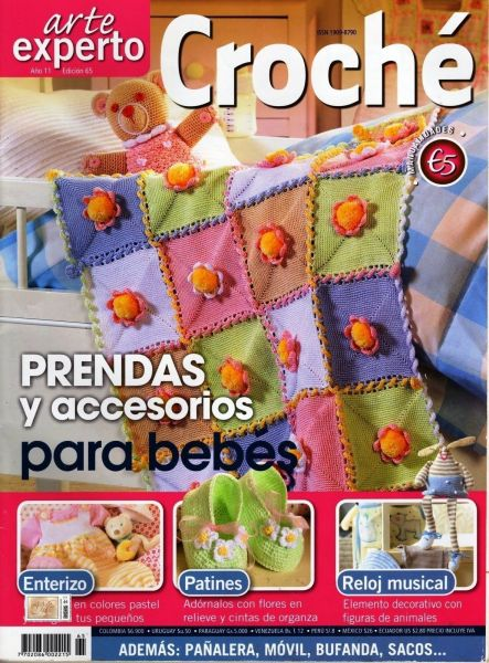 Prendas y accesorios para bebes en crochet
