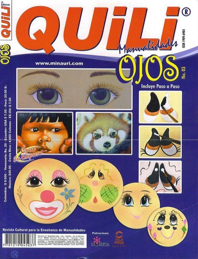 Revista para aprender a pintar ojos