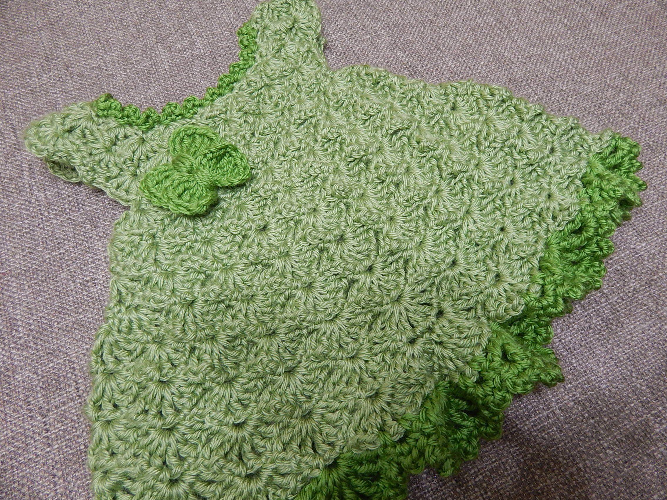 Moderno Vestido Del Bebé Del Patrón De Crochet Libre Componente ...