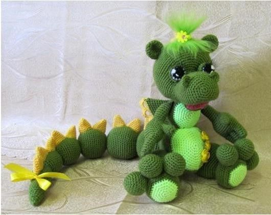 dragona verde coqueta