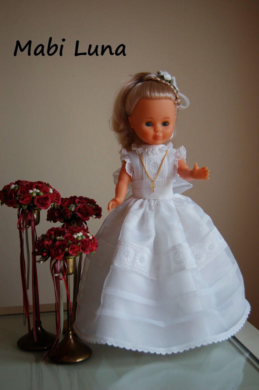 Vestido De Comunión Para Muñeca Patrones Gratis