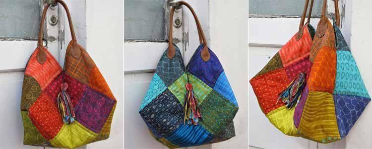 Tutorial bolso patchwork patrones gratis - Patchwork en casa patrones gratis ...