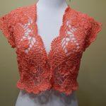 Bolero Primavera verano Crochet