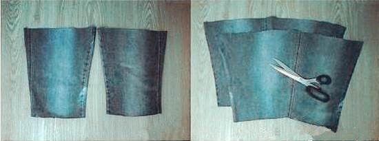 bolso vaquero con un pantalon 1