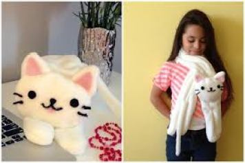 bufanda gatito facil de hacer