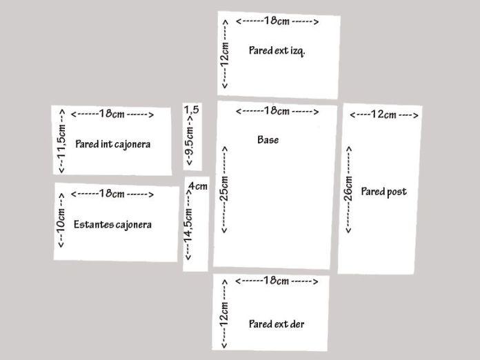 moldes para organizador