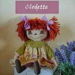 Muñeca primitiva clodette