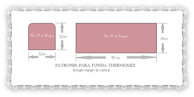 patrones funda thermomix