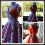 Vestido señora vintage