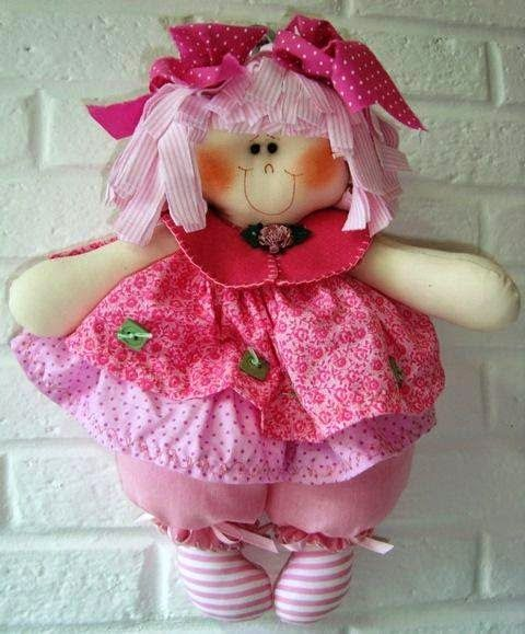 Muñeca de trapo rosita