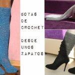 Transformar unos Zapatos en Botas a Crochet