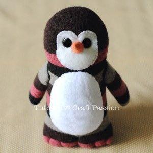 pinguino calcetin 14