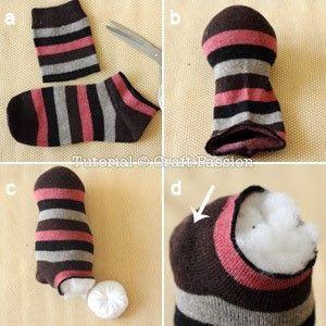 pinguino calcetin 4