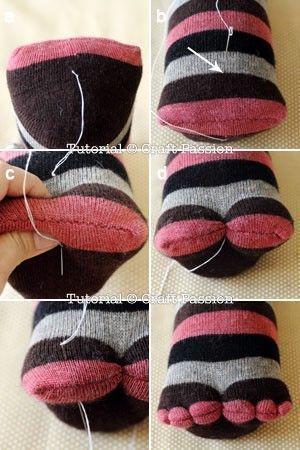 pinguino calcetin 6