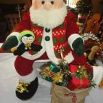 Muñeco Papá Noel en tela