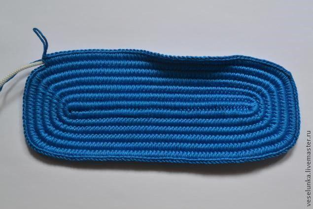 Base resistente para los bolsos a crochet - Patrones gratis