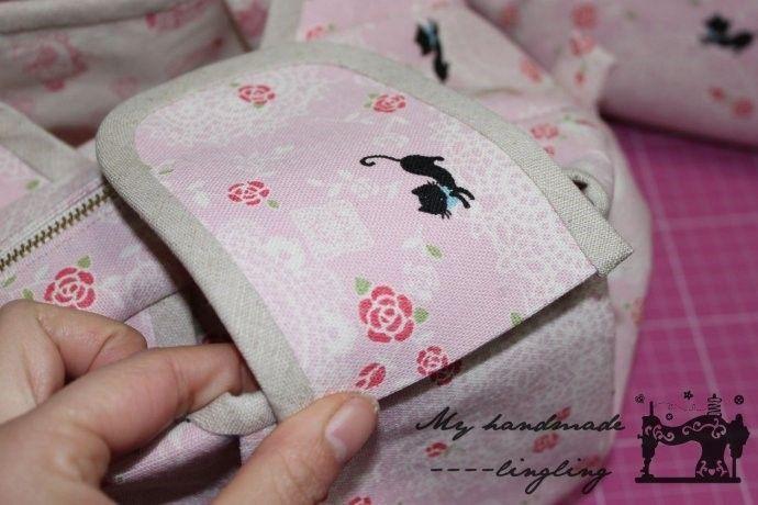 bolso rosa 44
