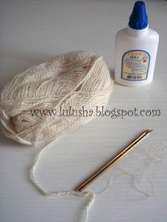 materiales para pelo de tildas