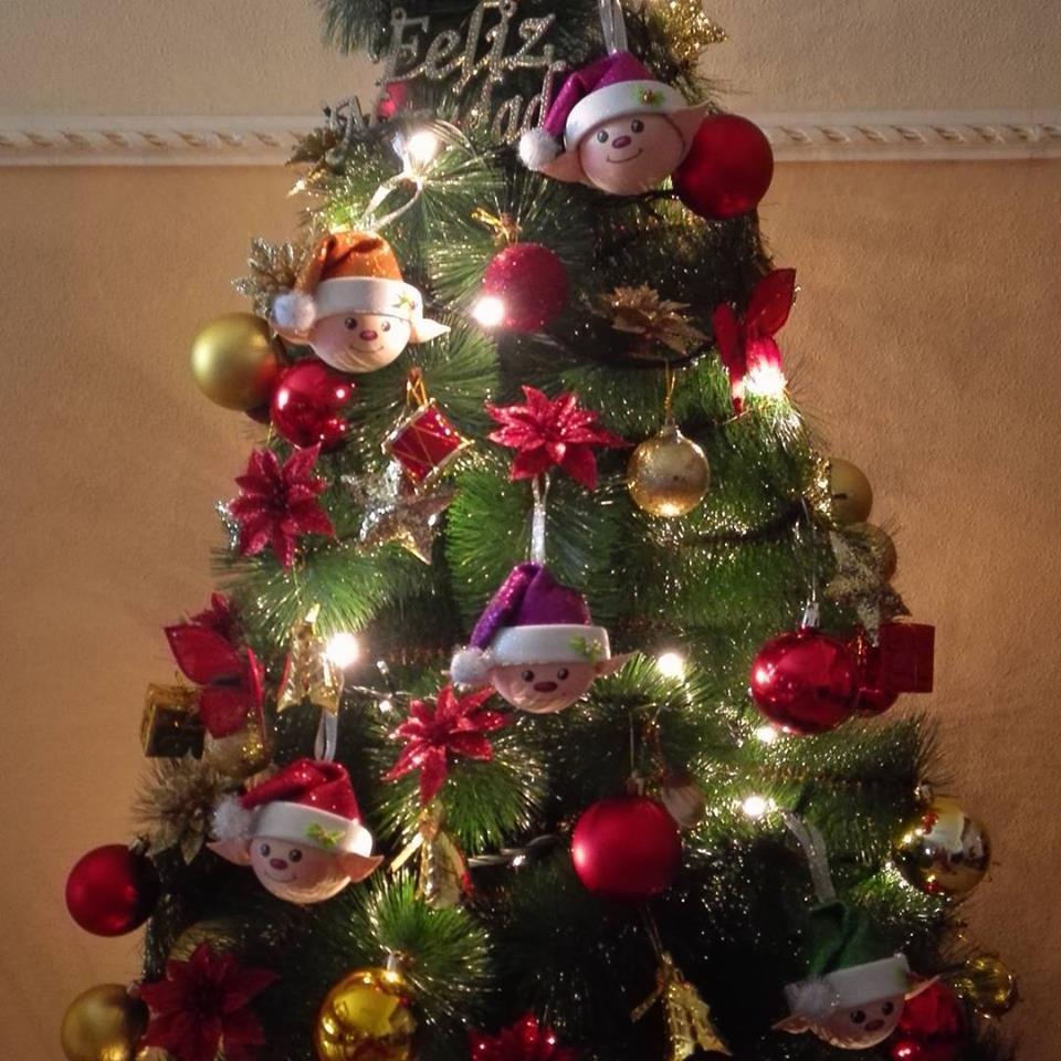 Adornos navide os elfos patrones gratis - Como realizar adornos navidenos ...
