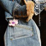Ideas para hacer tu propio bolso con vaqueros reciclados
