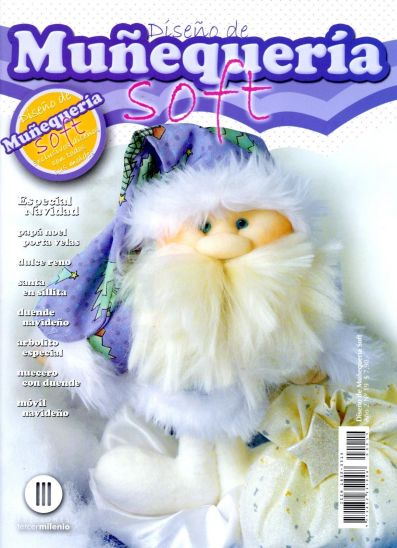 muñecos soft especial navidad