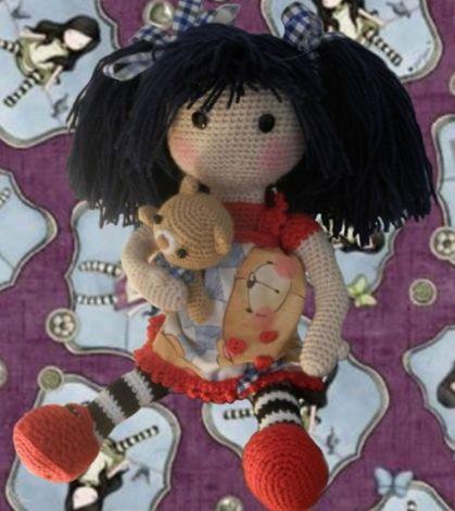 patron muñeca gorjuss