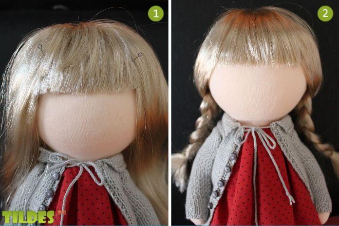 pelo de la muñeca