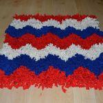 Cómo hacer una alfombra de trapillo