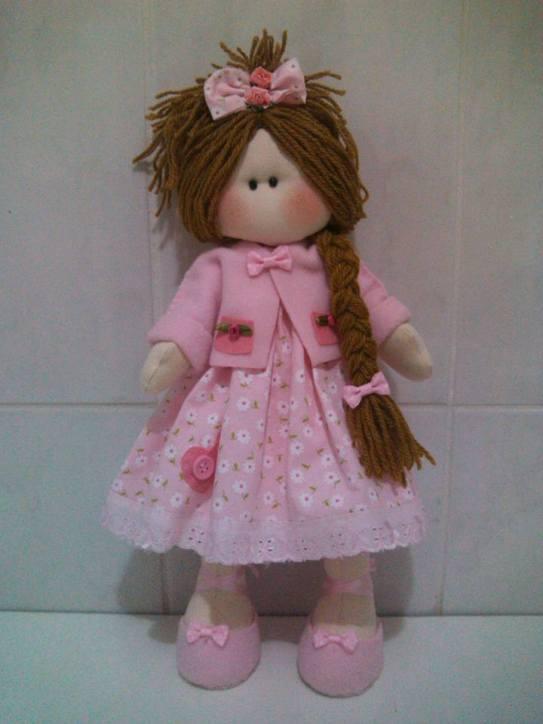 muñeca rusa con vestido 2