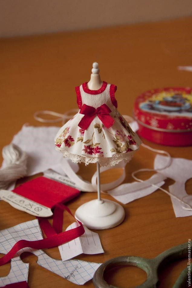 Como hacer un vestido para muñecas - Patrones gratis