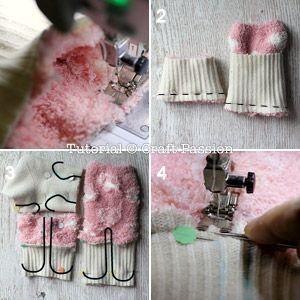 ovejas con calcetin paso 9