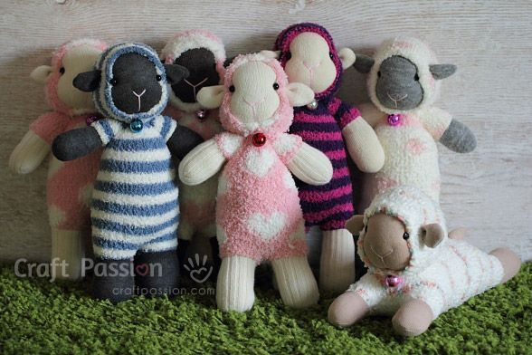 ovejas con calcetin