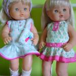 Patrón de vestido para muñeca nenuca