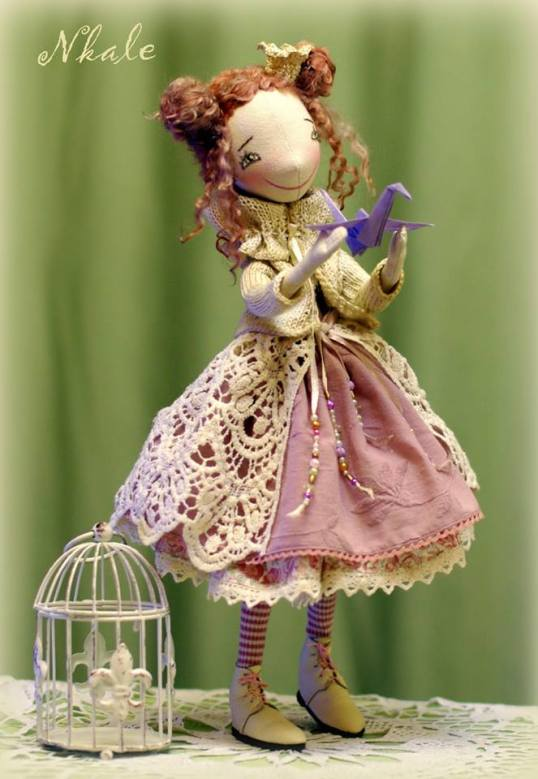 muñeca de tela 2